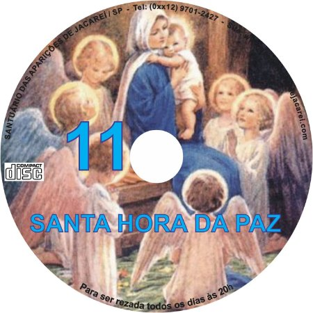 CD SANTA HORA DA PAZ 011