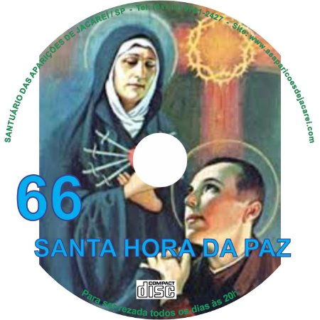 CD SANTA HORA DA PAZ 066