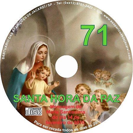 CD SANTA HORA DA PAZ 071