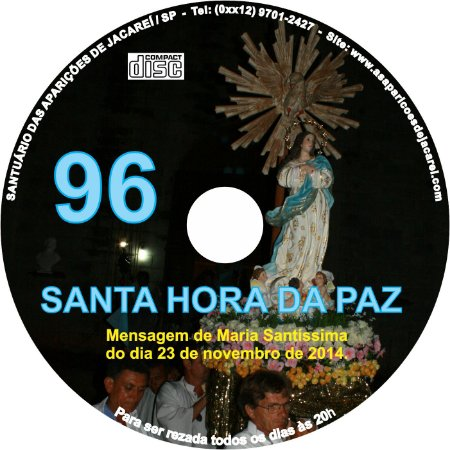 CD SANTA HORA DA PAZ 096
