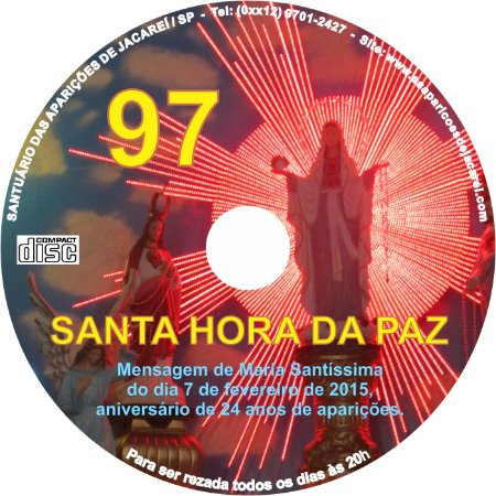 CD SANTA HORA DA PAZ 097