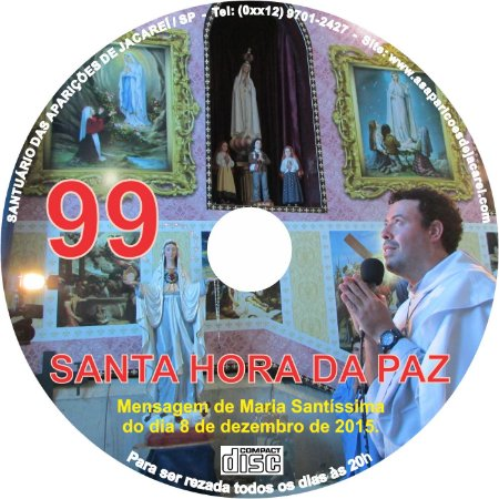 CD SANTA HORA DA PAZ 099