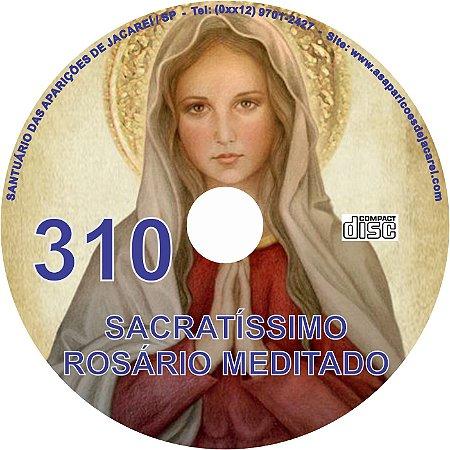 CD ROSÁRIO MEDITADO 310