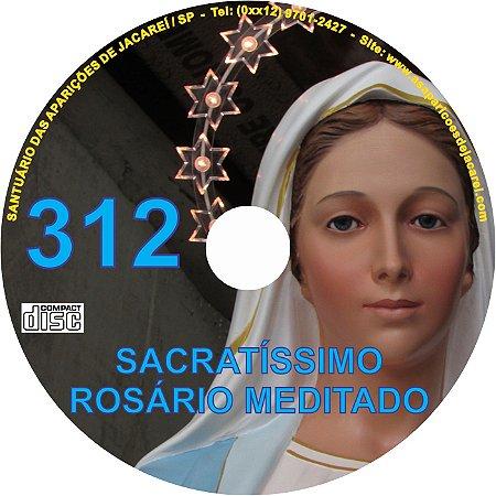 CD ROSÁRIO MEDITADO 312