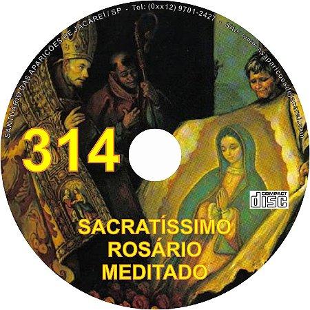 CD ROSÁRIO MEDITADO 314