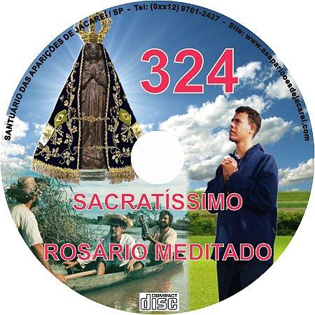 CD ROSÁRIO MEDITADO 324