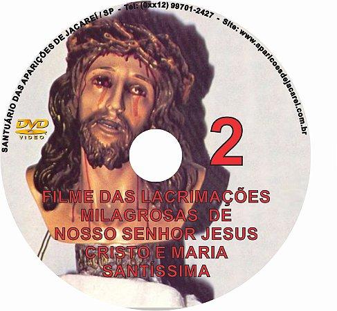 DVD- FILME LÁGRIMAS DE JESUS E MARIA 2