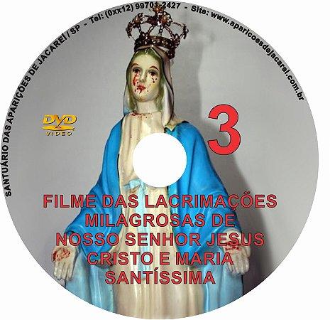 DVD- FILME LÁGRIMAS DE JESUS E MARIA 3