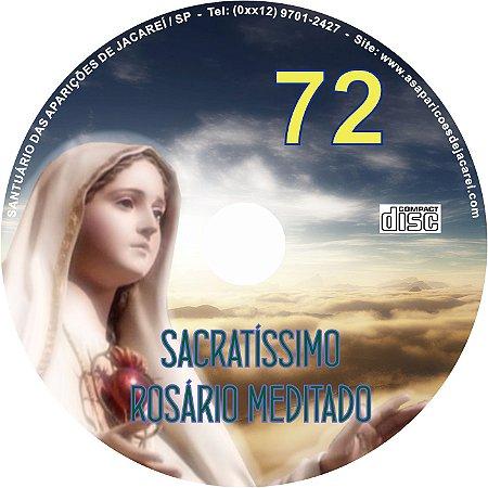 CD ROSÁRIO MEDITADO 072
