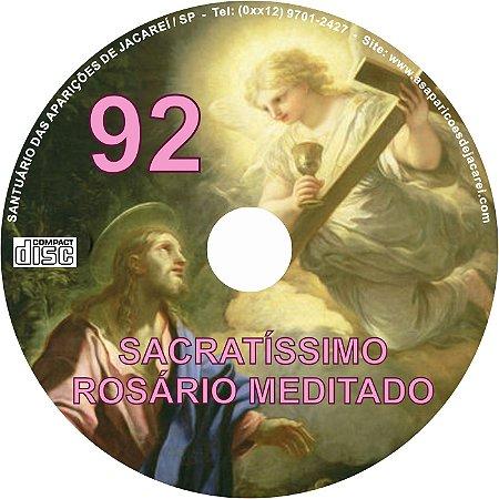CD ROSÁRIO MEDITADO 092