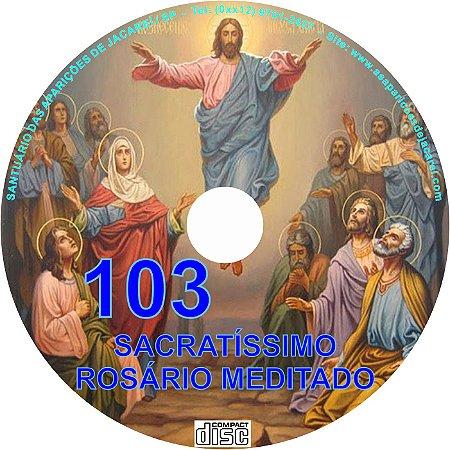 CD ROSÁRIO MEDITADO 103