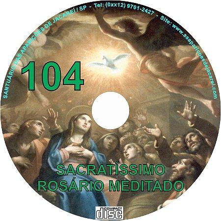 CD ROSÁRIO MEDITADO 104