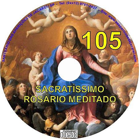 CD ROSÁRIO MEDITADO 105
