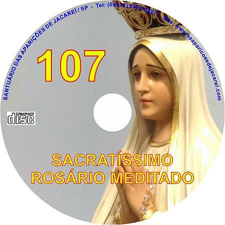 CD ROSÁRIO MEDITADO 107
