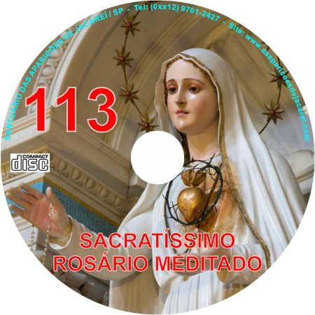 CD ROSÁRIO MEDITADO 113