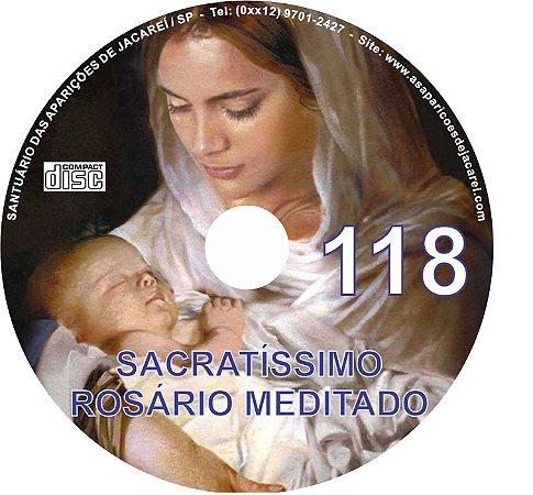 CD ROSÁRIO MEDITADO 118
