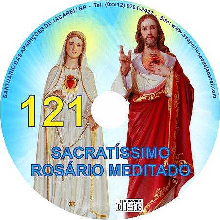 CD ROSÁRIO MEDITADO 121