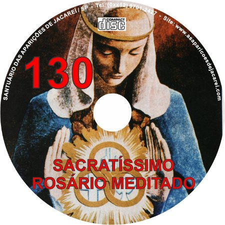 CD ROSÁRIO MEDITADO 130