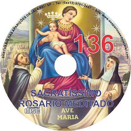 CD ROSÁRIO MEDITADO 136