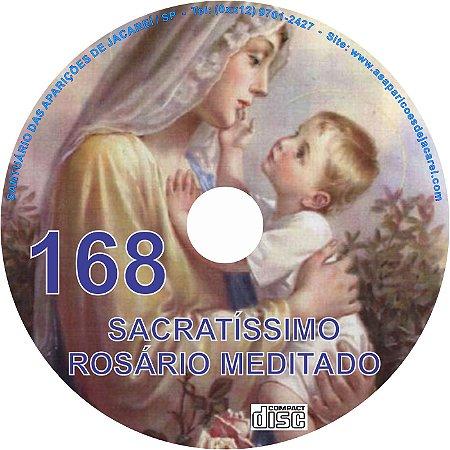 CD ROSÁRIO MEDITADO168