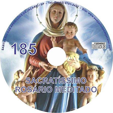 CD ROSÁRIO MEDITADO 185