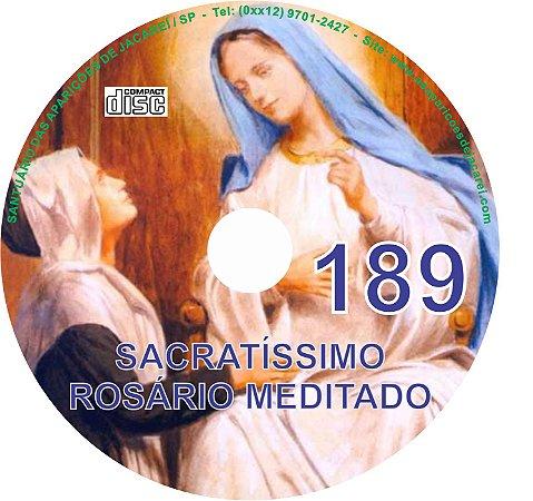 CD ROSÁRIO MEDITADO 189