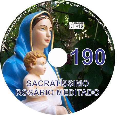 CD ROSÁRIO MEDITADO 190