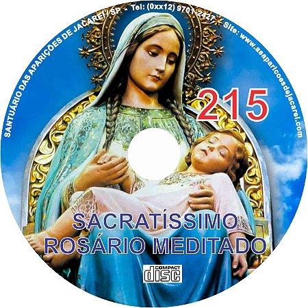 CD ROSÁRIO MEDITADO 215