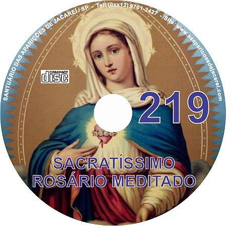 CD ROSÁRIO MEDITADO 219