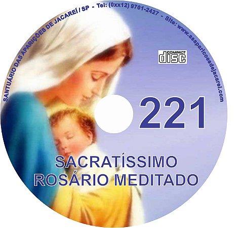CD ROSÁRIO MEDITADO 221