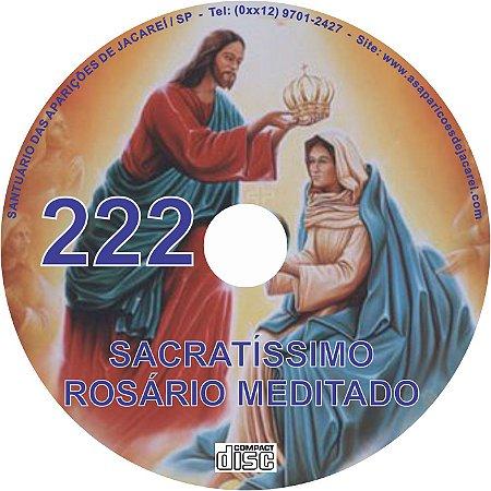 CD ROSÁRIO MEDITADO 222