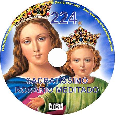 CD ROSÁRIO MEDITADO 224