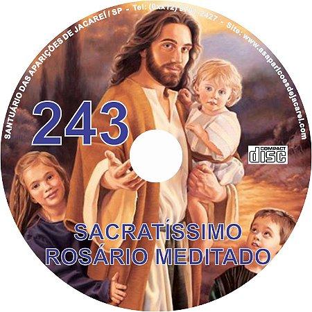 CD ROSÁRIO MEDITADO 243