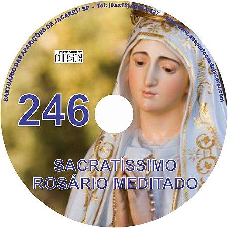 CD ROSÁRIO MEDITADO 246