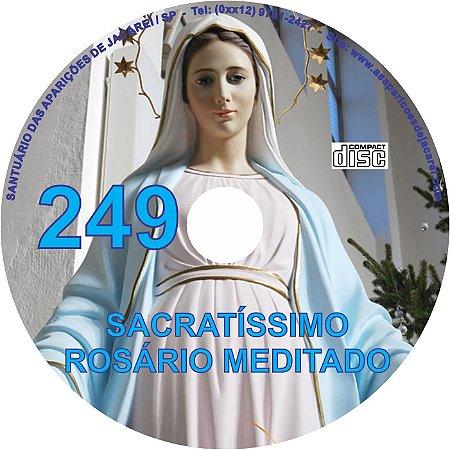 CD ROSÁRIO MEDITADO 249