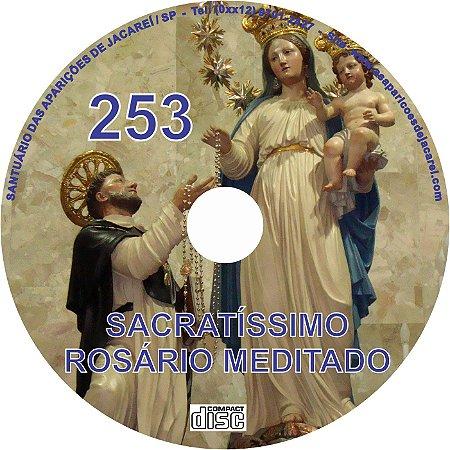 CD ROSÁRIO MEDITADO 253