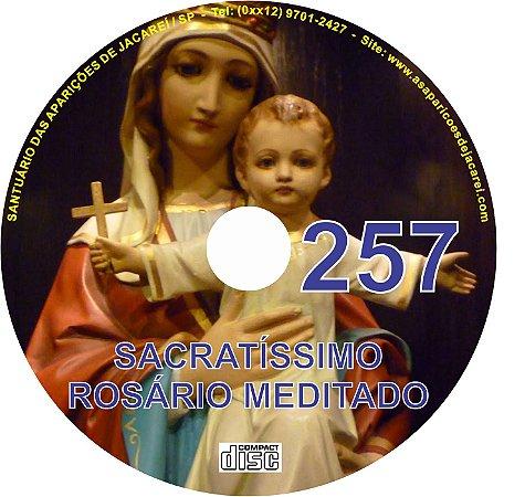 CD ROSÁRIO MEDITADO 257