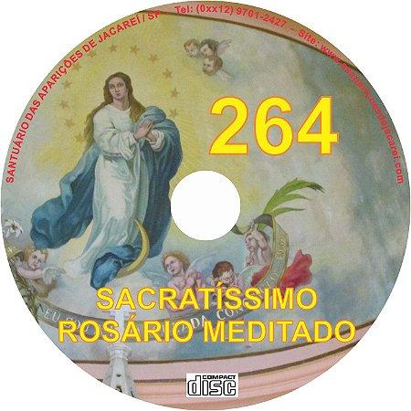 CD ROSÁRIO MEDITADO 264