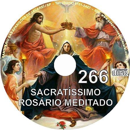 CD ROSÁRIO MEDITADO 266