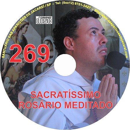 CD ROSÁRIO MEDITADO 269