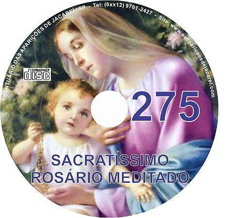 CD ROSÁRIO MEDITADO 275