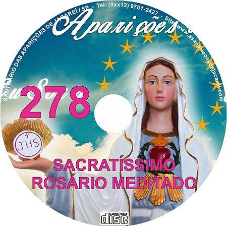 CD ROSÁRIO MEDITADO 278