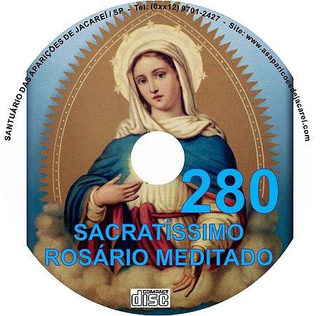 CD ROSÁRIO MEDITADO 280