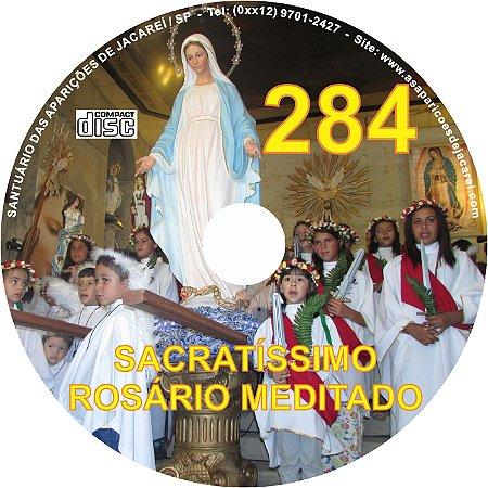 CD ROSÁRIO MEDITADO 284