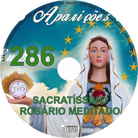 CD ROSÁRIO MEDITADO 286