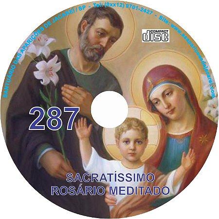 CD ROSÁRIO MEDITADO 287