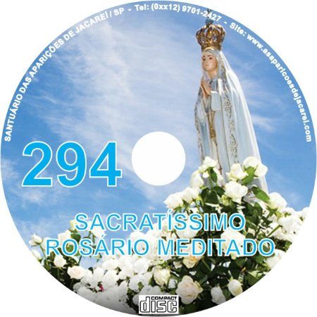CD ROSÁRIO MEDITADO 294