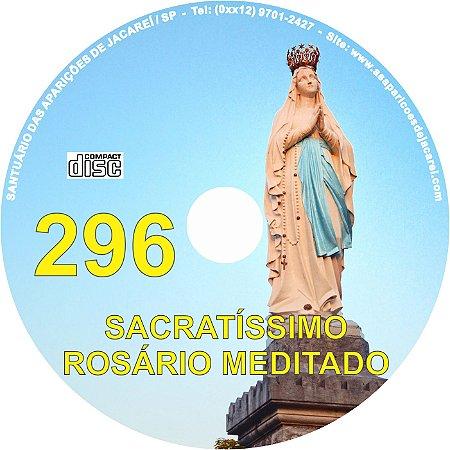 CD ROSÁRIO MEDITADO 296