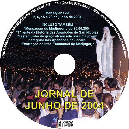 CD JORNAL DE JUNHO DE 2004
