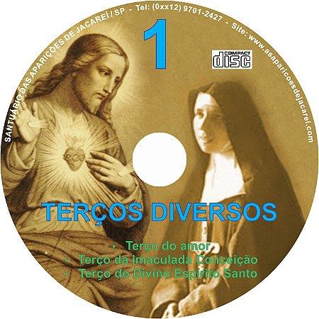 CD TERÇOS DIVERSOS 01